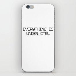 Funny Software Engineer CTRL iPhone Skin