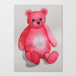Rosy the Bear Canvas Print