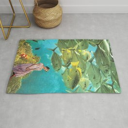 'It's Lonely Down Here' // Under the Sea Rug