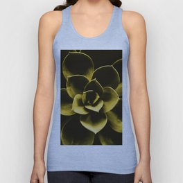 Succulent Plant In Olive Color #decor #society6 #homedecor Unisex Tank Top