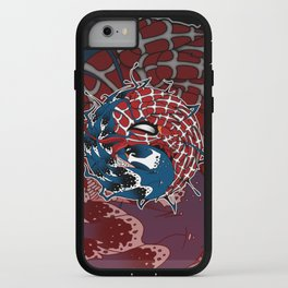 venom yin yang iPhone Case