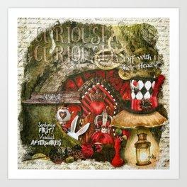 Queen of the Hearts Art Print