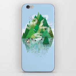 Mysterious Island iPhone Skin