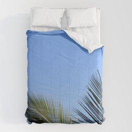 Palm Tree Sky Comforters