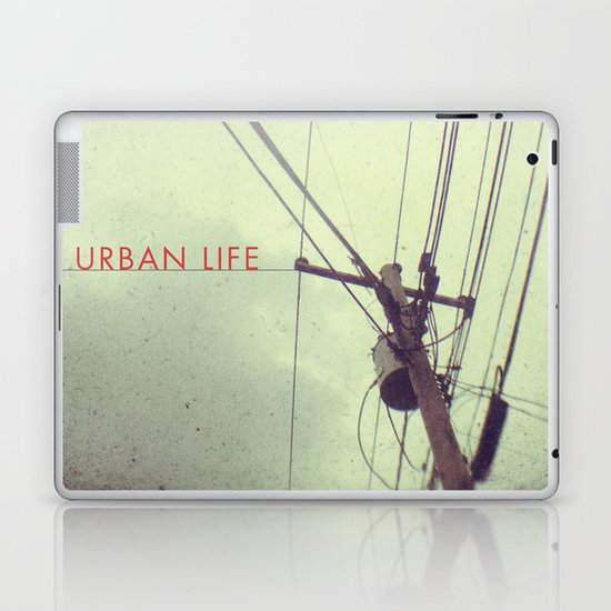 urban life project Laptop & iPad Skin