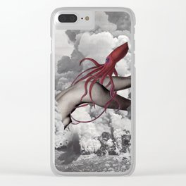 Entanglement Clear iPhone Case
