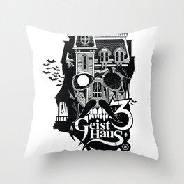Geist Haus 3  Throw Pillow