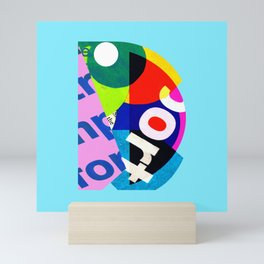 D Mini Art Print