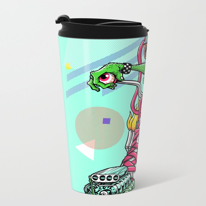 RIDE IT, KICK IT! Metal Travel Mug