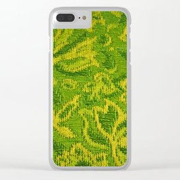 Couch Fabric Clear iPhone Case