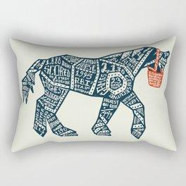 Iron Horse Rectangular Pillow