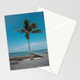 Scuba School Belize Palm Stationery Cards