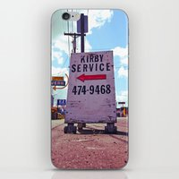 kirby iPhone & iPod Skins featuring Kirby Service by Vorona Photography