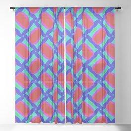Sticky Jelly Sheer Curtain