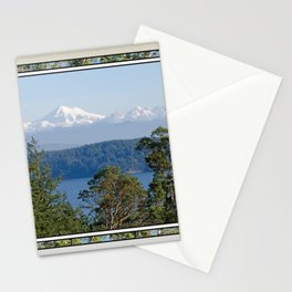 MOUNT BAKER FROM ZEE HILL ORCAS ISLAND Stationery Cards