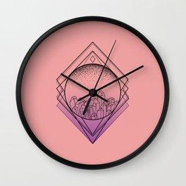 Pristine Cut Wall Clock