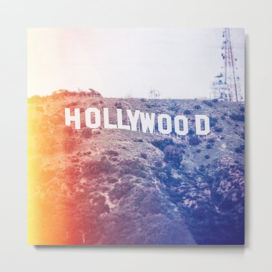 Hollywood Metal Print