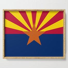 Arizona Flag Serving Tray