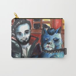 vampire and dog Carry-All Pouch