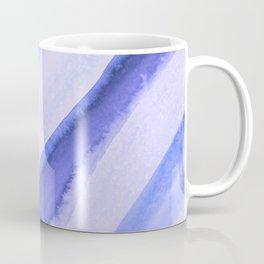 Blue Wave Watercolor Coffee Mug