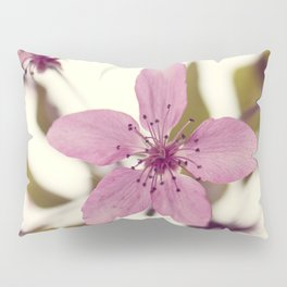 Pink blooming tree Pillow Sham