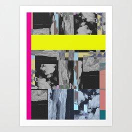 Modern Uncertainy Art Print
