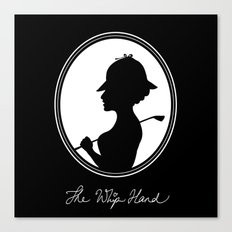 The Whip Hand Canvas Print