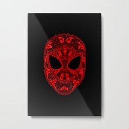 Spidey Laceman Metal Print