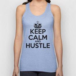 Keep Calm and Hustle Unisex Tank Top