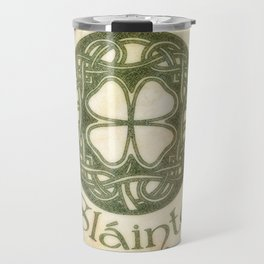 Slainte or To Your Health Travel Mug