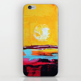 Abstract Landscape - My Moon iPhone Skin