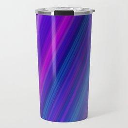 Abstract Blue Night Colors Travel Mug
