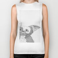 gizmo Biker Tanks featuring Gizmo / Mogwai. by Bundles of Film