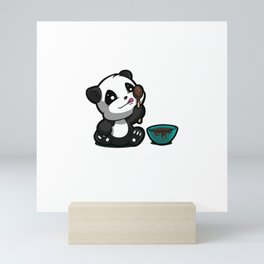 I Lick the Spoon Mini Art Print