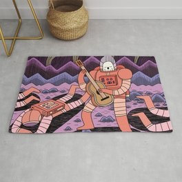 In Space, No one can Hear you Rug