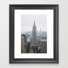 Dreamy NYC Framed Art Print