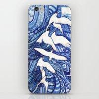 freedom iPhone & iPod Skins featuring Freedom by Verismaya