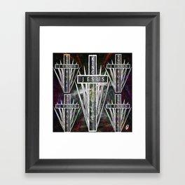 Kings  Rule Framed Art Print