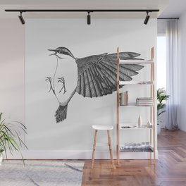 kung-fu nuthatch Wall Mural