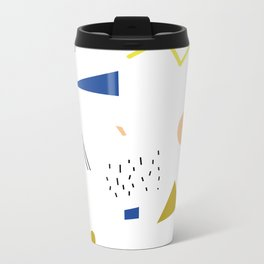 terrazzo confetti Metal Travel Mug