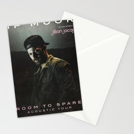 kip moore room to spare tour 2019 kepiting Stationery Cards