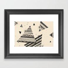 Pattern Doodle Two Framed Art Print