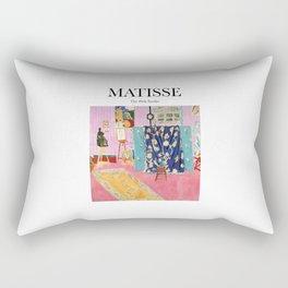 Matisse - The Pink Studio Rectangular Pillow