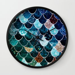 REALLY MERMAID TIFFANY Wall Clock