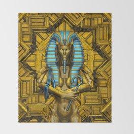 Sacred Queen Throw Blanket