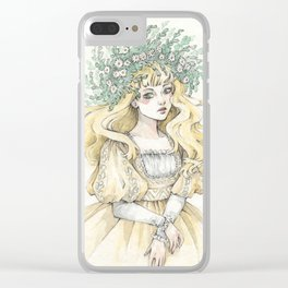 March Clear iPhone Case