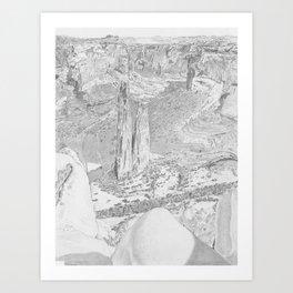 Canyon de Chelly Art Print