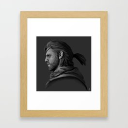 Phantom Boss Framed Art Print