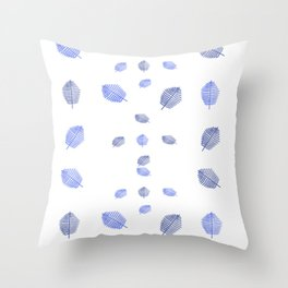 Ultravioletleafsmallpattern2 Throw Pillow