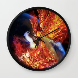 PHOENIX TEARS Wall Clock